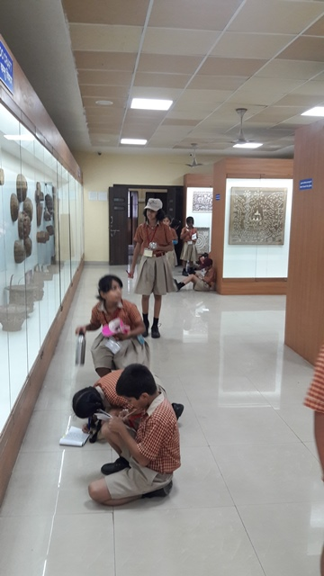 Field Trip to Tribal Museum, Class IV