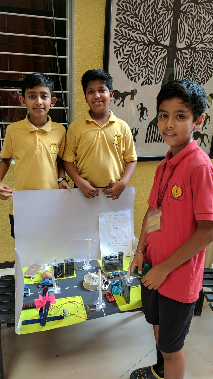 Science Project Exhibition - Sept 2017