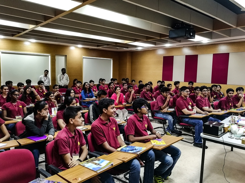 Class XI visit to IISER - Aug 2017